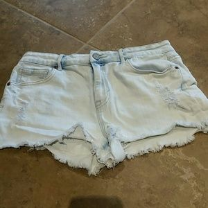 Aero high waisted Jean shirts size 8